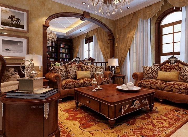 沈阳实创装饰-55.5万打造轻松休闲奢华舒适别墅