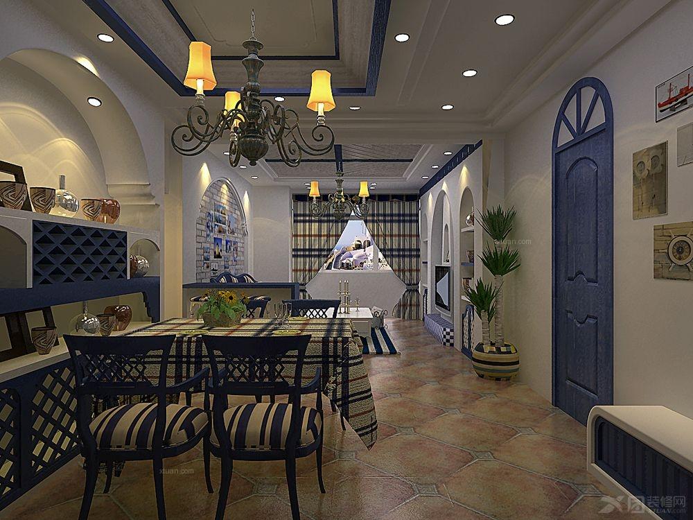 上海华山路餐厅装修效果图 秋叶餐厅设计装修效果图 餐厅装修效果图
