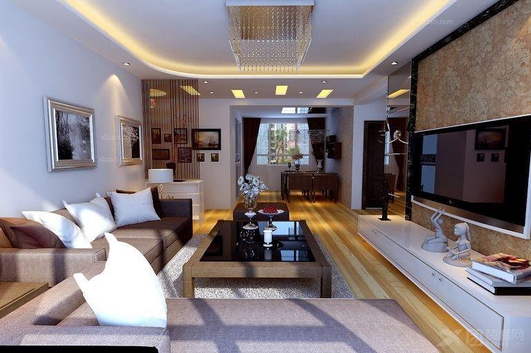 盘锦晋级装饰之漫步中海城二居室90平现代简约装修设计