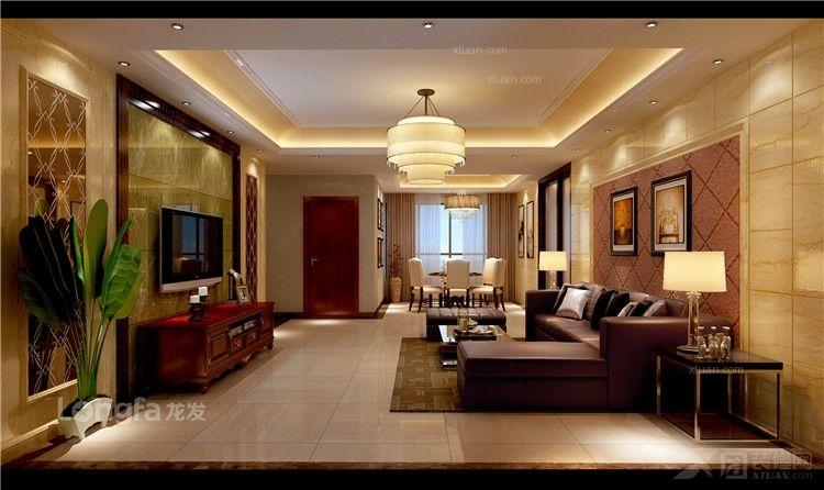 四居室欧式风格案例装修效果图