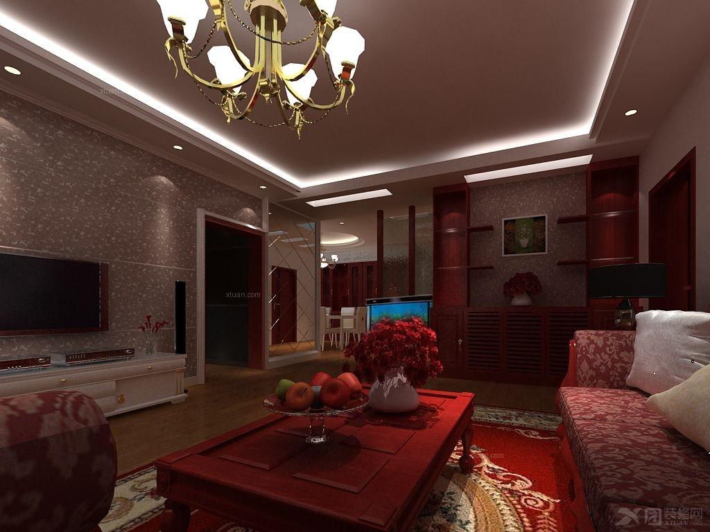 中式风格 装修类型:家装