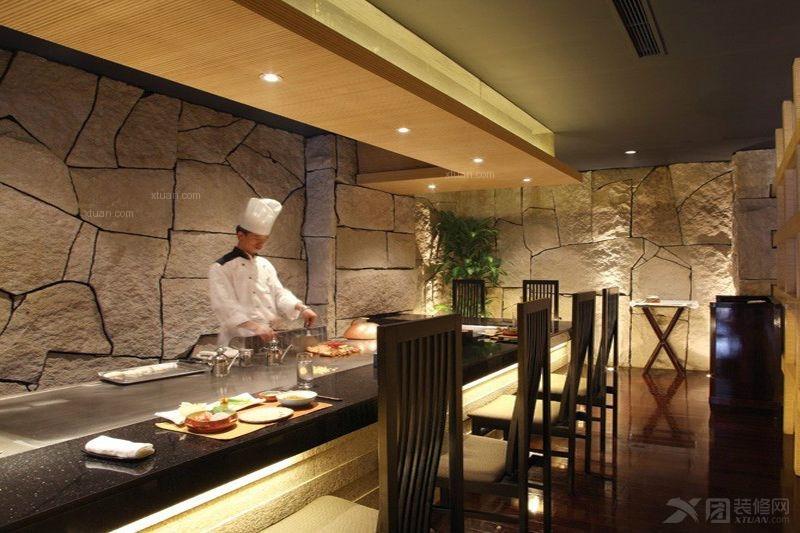 中式风格_西餐厅