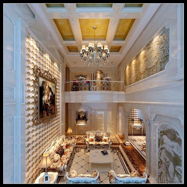 成都别墅首席设计师 牧马山蔚蓝卡地亚西式古典风格案例装修效果 中式图片