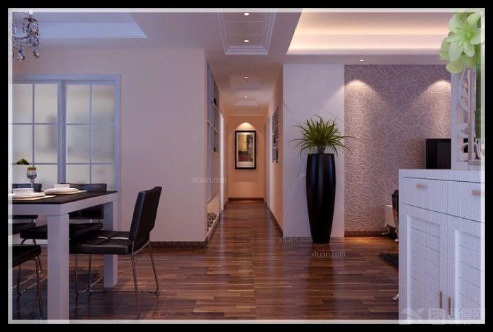 100 75平复式现代风格设计装修效果图  风格:现代风格 装修类型:家装