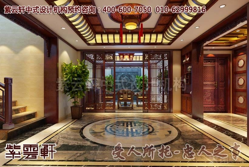 独栋别墅现代风格地下室_浙江某别墅现代中式图案例赏析图片