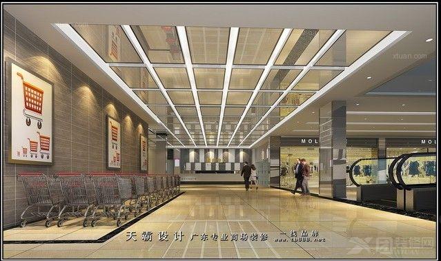 精品超市室内图,来天霸设计找装修效果图 x团装修网高清图片