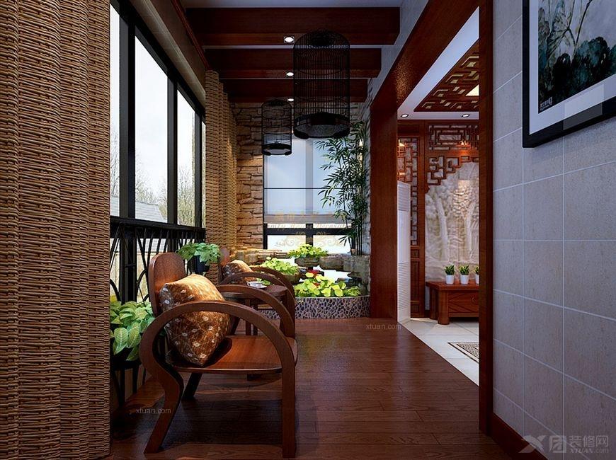 阳台过道门厅灯 客厅卧室灯 装修效果 图