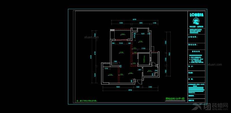 三室两厅现代简约_融侨景江装修效果图-x团装修网