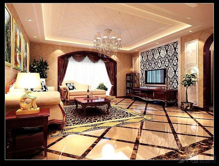 典雅高贵欧式风格美宅设计方案