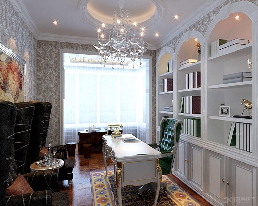 西安暖宅装饰  建邦华庭  巴洛克风格