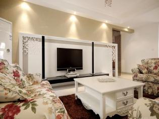西安暖宅装饰  紫郡长安    法式风格