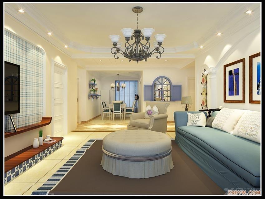 户型:三居室 风格:欧式风格 装修类型:家装 装修方式:全包 面积:132