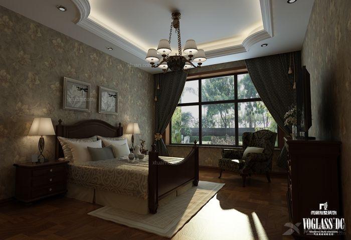 自建别墅 法式新古典风格装修效果图图片