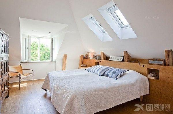 三居室现代简约卧室_百瑞景装修效果图-x团装修网