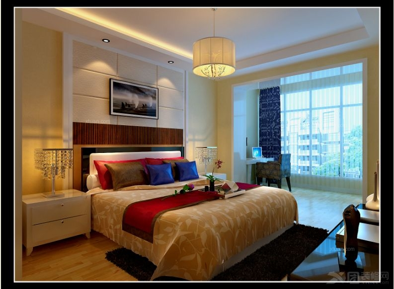背景墙 房间 家居 起居室 设计 卧室 卧室装修 现代 装修 793_582