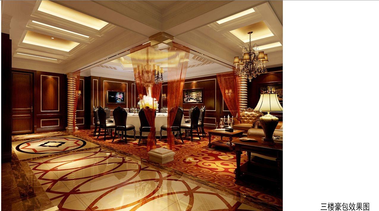 丰和银座酒楼装修效果图-x团装修网图片
