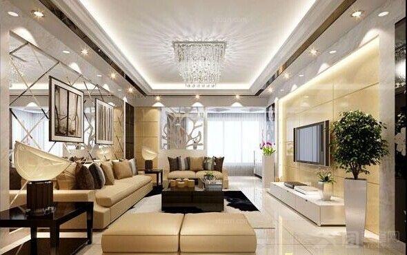 银基王朝三居室新中式装修效果图  户型:三居室 装修类型:家装 装修图片