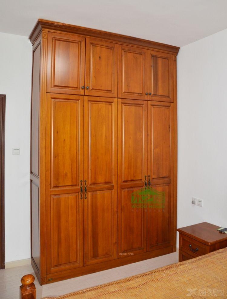 定制衣柜案例定做实木衣柜片装修效果图