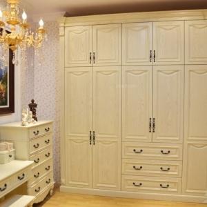 定制衣柜案例定做实木衣柜效果图片