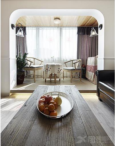 大户型北欧风格客厅_华润置地橡树湾装修效果图-x团图片
