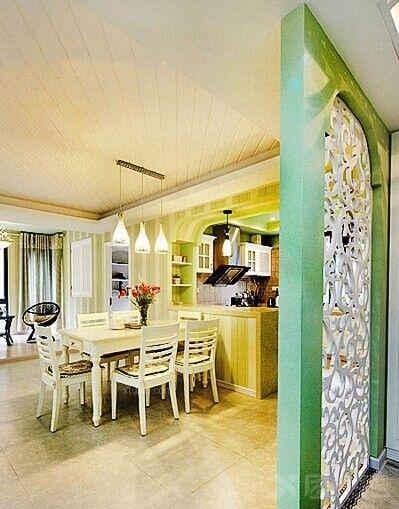 港式茶餐厅实景图装修效果图  户型:三居室 房间:餐厅 风格:田园风格