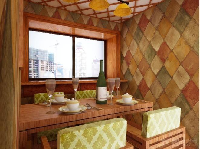嘉融联盟80后主题餐厅设计装修效果图 北京嘉融联盟装饰港式茶餐厅