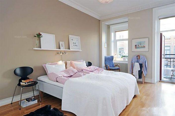 两居室英式风格_白色的小清新