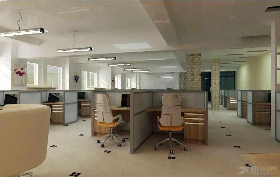 办公室装修效果图