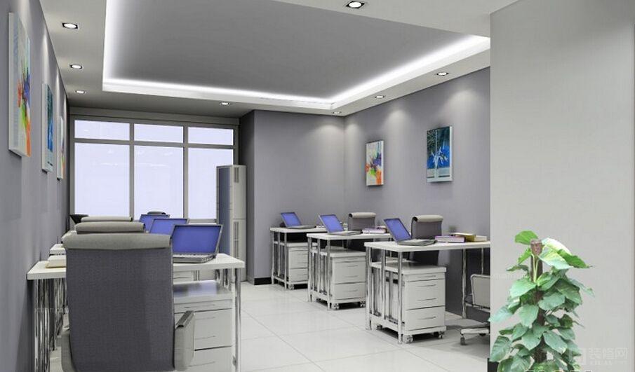 办公室装修效果图-x团装修网