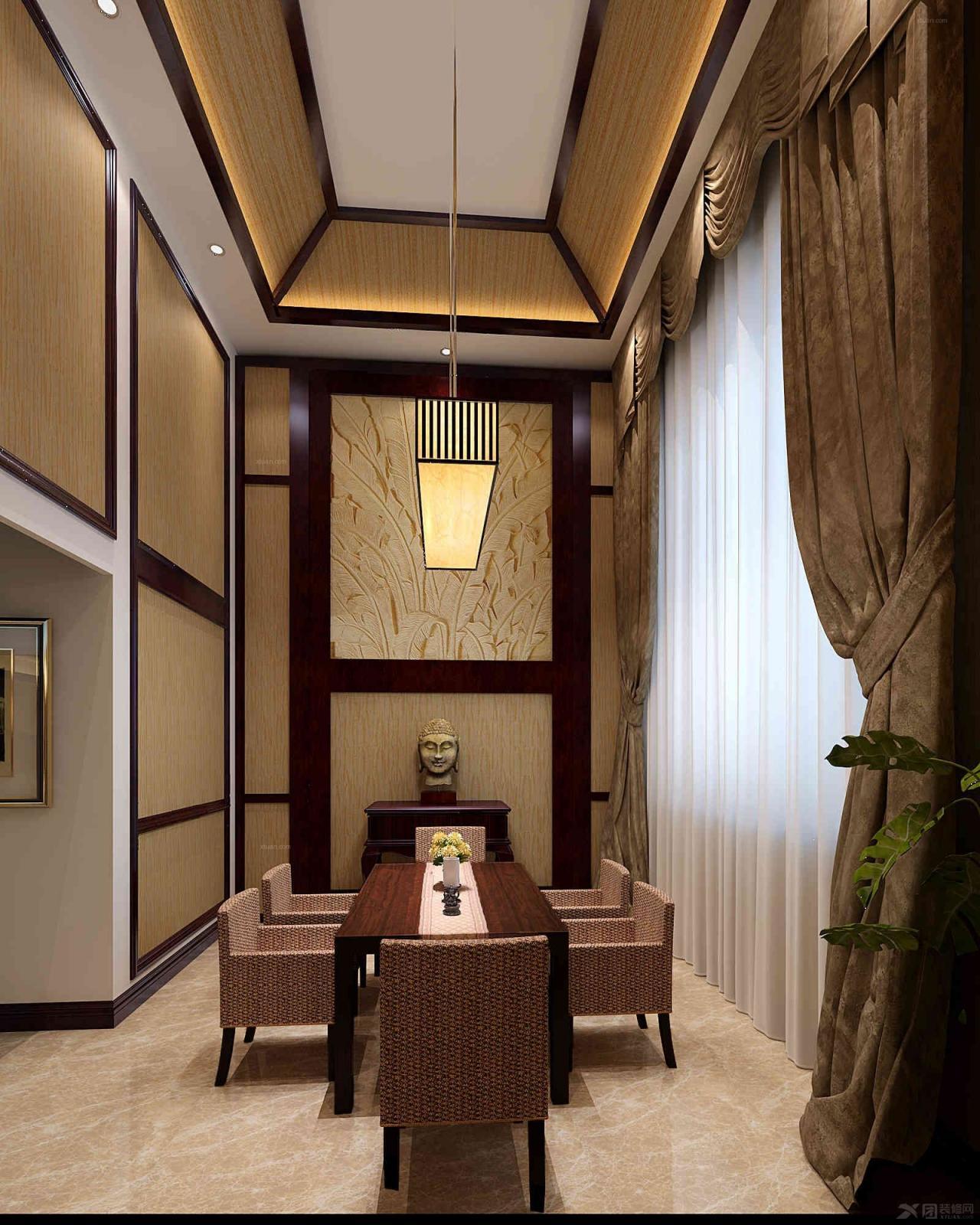 造价145000 大户型 东南亚风格