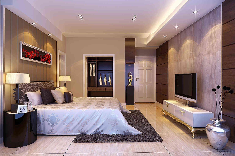 融湖中心城臥室家具裝修效果圖  戶型:大戶型 房間:臥室 風格:現代