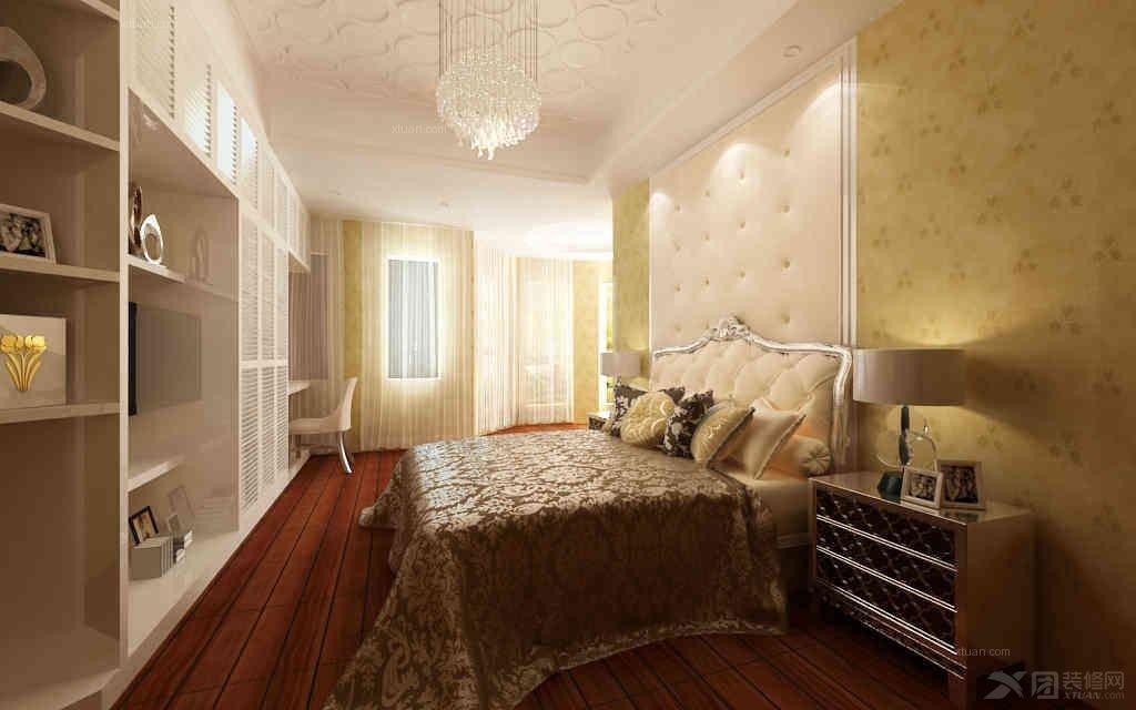 卧室图【西宁家装】装修效果图  户型:大户型 房间:卧室 风格:北欧图片