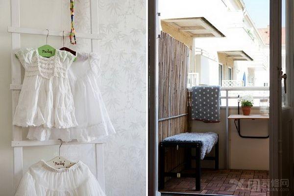 单身公寓现代风格阳台_碧桂园凤凰城装修效果图-x团