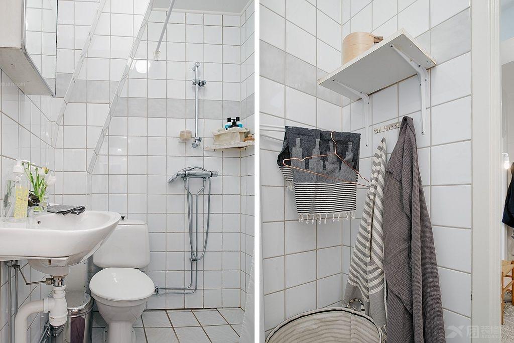 两居室现代风格洗手间_富海澜湾半岛