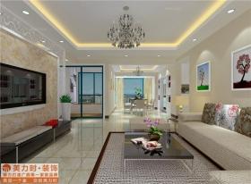 金质苑-287平米楼中楼-简约中式风格-装修效果图图片