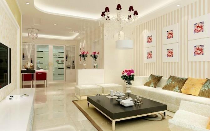 中式别墅客厅装修效果图  户型:两室一厅 房间:客厅 装修类型:家装 装