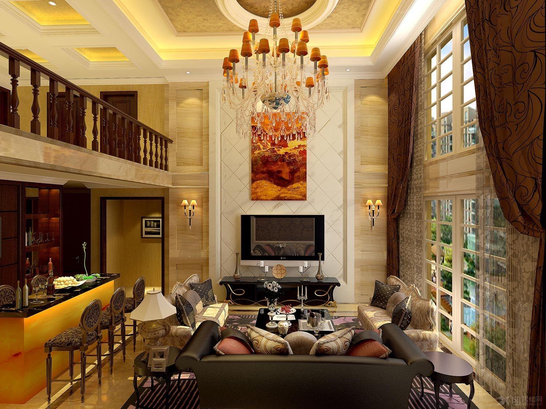 精致,典雅,大气的美式家私,成为空间视觉的重心,是整个空间的主题图片