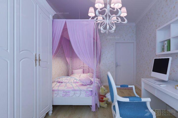 卧室家具定制实木衣柜实木床装修效果图  户型:小户型 房间:卧室 装修