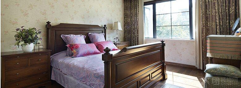 臥室家具定制實木衣柜實木床裝修效果圖  戶型:復式樓 房間:臥室 風格