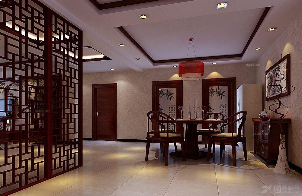 意小利西餐厅装修效果图  户型:三室两厅 房间:餐厅 装修类型:家装