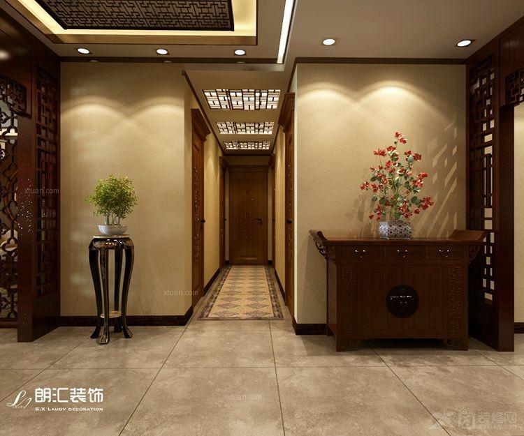 三室两厅中式风格过道_省政府家属院图片