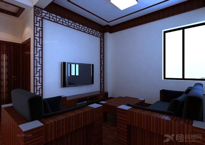 别墅中式风格休闲区_温泉山谷图片