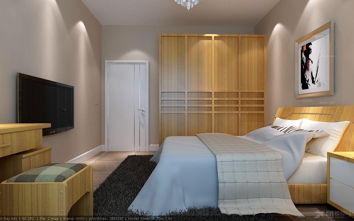 59566元 设计说明: 本案户型建筑面积90平米(三室一厅一厨一卫).