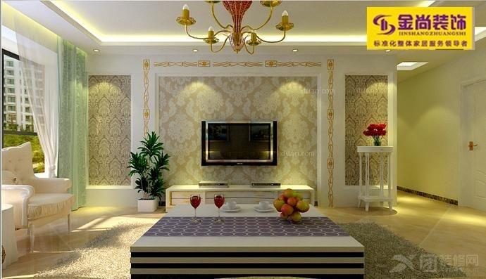 房屋装修设计图片欣赏 三室115平方