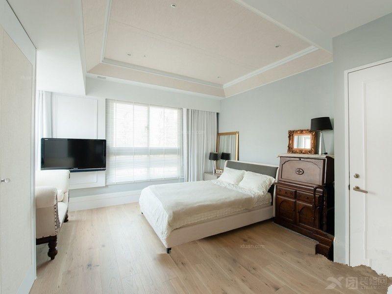 三室一厅简约风格卧室_清新简约风格图片