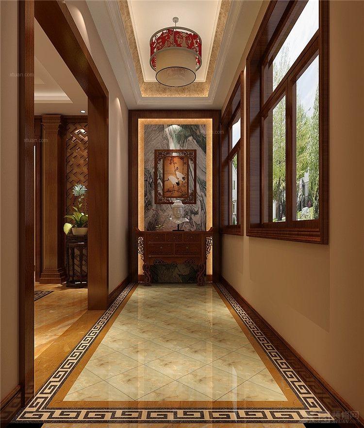 复古鹦鹉阳台吊灯 过道玄关走廊吊灯图片