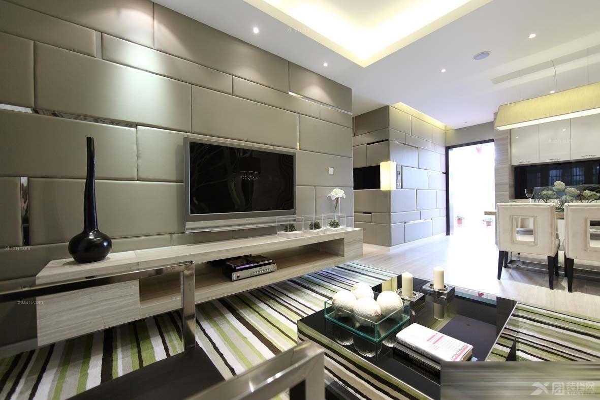 套间客厅装修效果图  户型:大户型 房间:客厅 装修类型:家装 装修方式