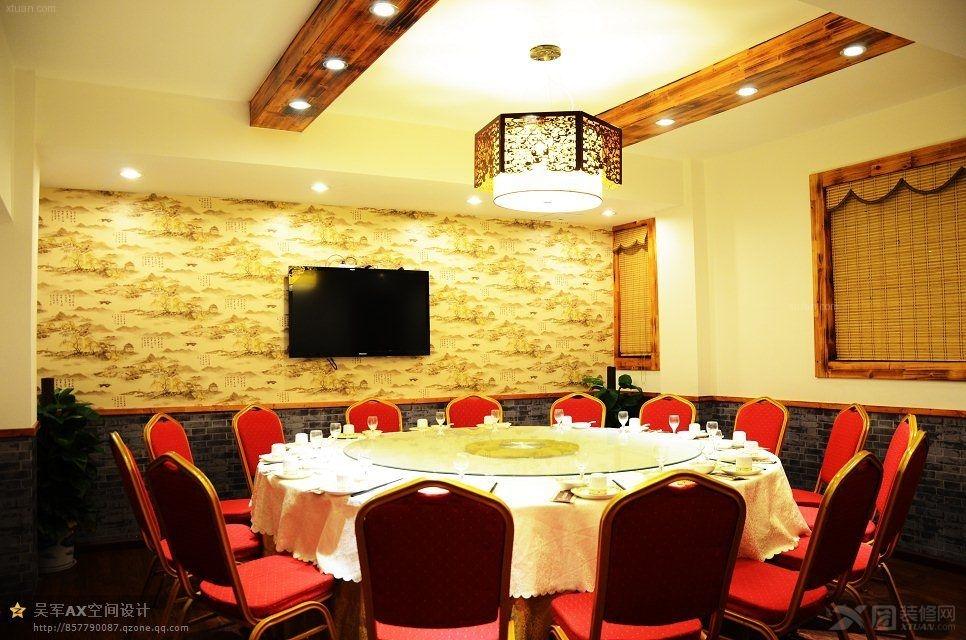 别墅中式风格_老太婆小海鲜餐厅设计