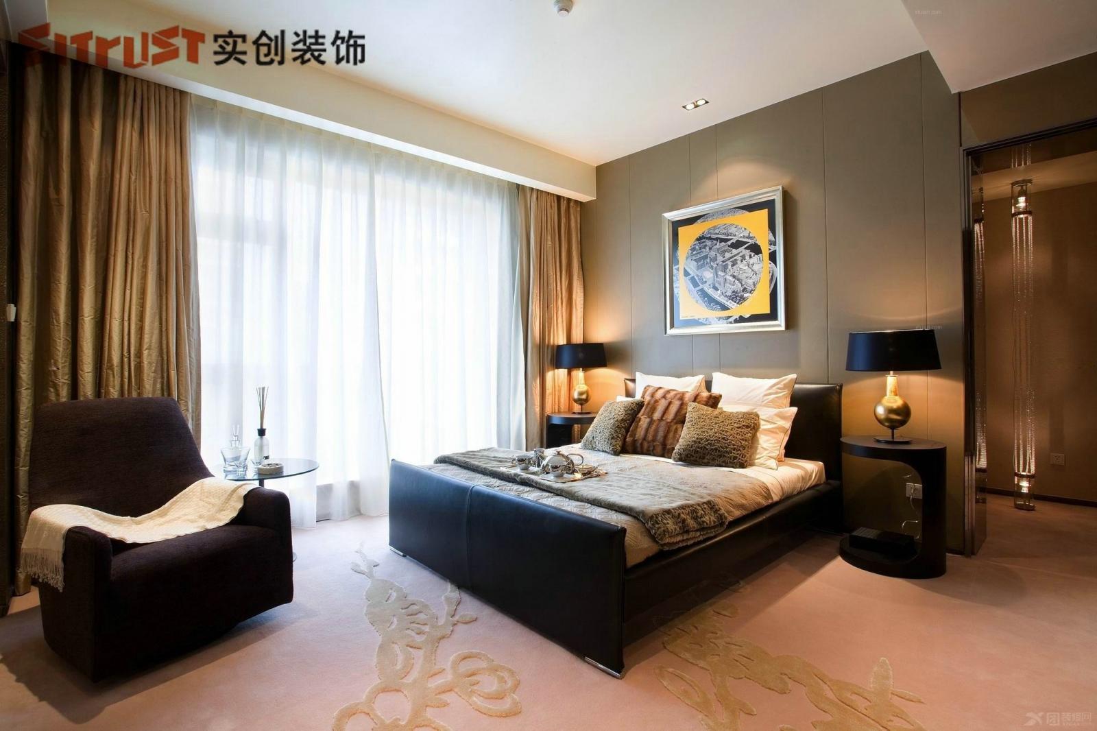 标签:卧室独栋别墅欧式风格 设计理念: 共享空间墙面材质以硅藻泥为主