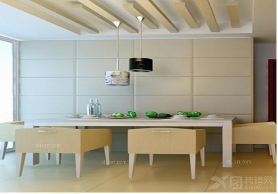 三居室欧式风格卧室卧室背景墙_电视背景墙软包,正方形电视背景墙软包图片